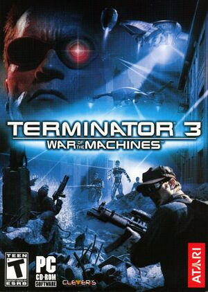 Terminator 3: War of the Machines cover