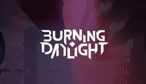 Burning Daylight cover