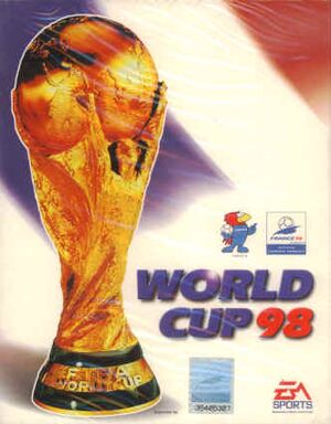 FIFA World Cup 98 cover