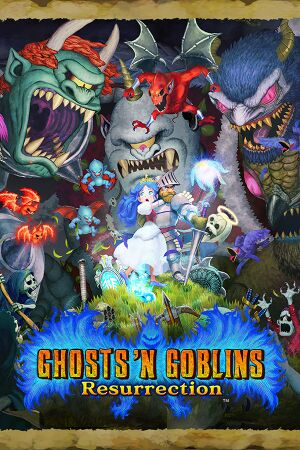 Ghosts 'n Goblins Resurrection cover