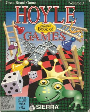 Hoyle's Official Book of Games: Volume 3 cover