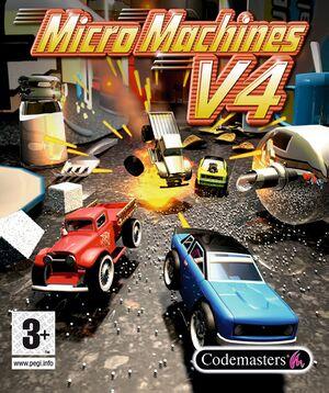 Micro Machines V4 cover