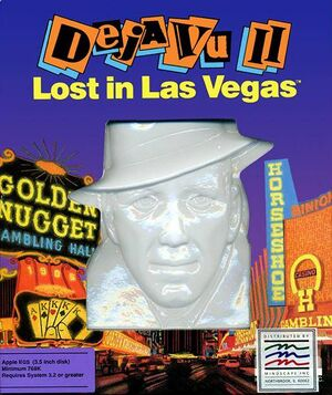 Déjà Vu II: Lost in Las Vegas cover