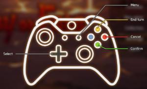 Battle controls (gamepad)