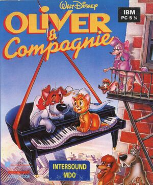 Oliver & Company cover