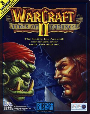 Warcraft II: Tides of Darkness cover