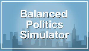 Balanced Politics Simulator cover