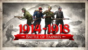 Battle of Empires: 1914-1918 cover
