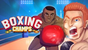 Boxing Champs cover