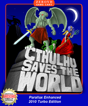 Cthulhu Saves the World cover