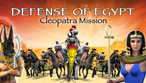 Defense of Egypt: Cleopatra Mission cover