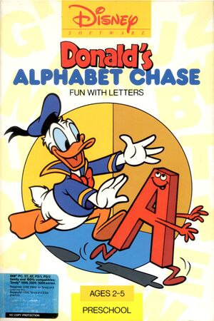 Donald's Alphabet Chase cover