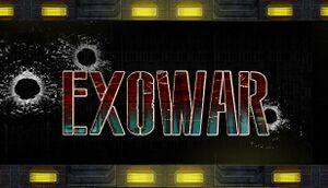 Exowar cover