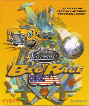 Pro Pinball: Big Race USA cover