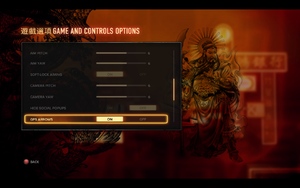 In-game general settings (2/3).
