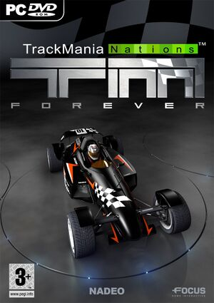 TrackMania Nations Forever cover