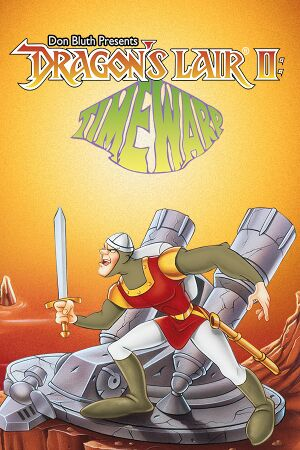 Dragon's Lair II: Time Warp cover