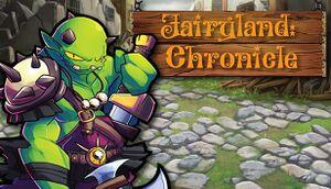 Fairyland: Chronicle cover