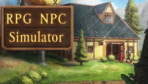RPG NPC Simulator VR cover