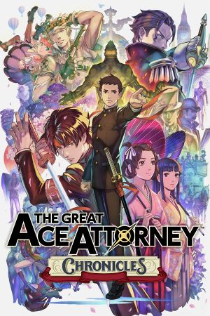 The Great Ace Attorney Chronicles cover
