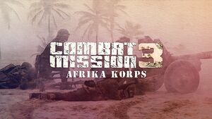 Combat Mission 3: Afrika Korps cover