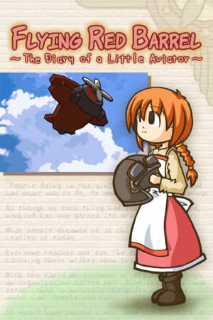 Flying Red Barrel: The Diary of a Little Aviator cover