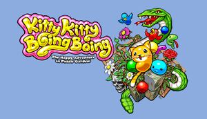 Kitty Kitty Boing Boing: The Happy Adventure in Puzzle Garden! cover