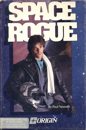 Space Rogue cover