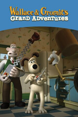 Wallace & Gromit's Grand Adventures cover