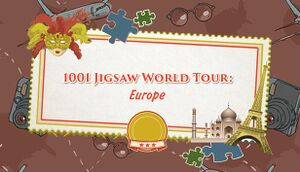 1001 Jigsaw. World Tour: Europe cover