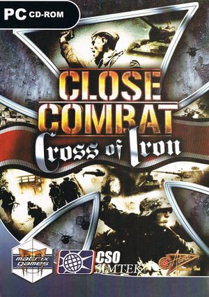 Close Combat: Cross of Iron cover