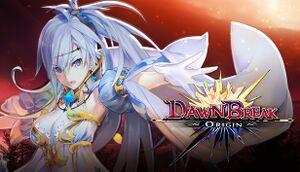 Dawn Break -Origin- cover