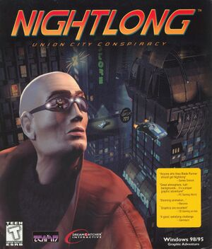Nightlong: Union City Conspiracy cover