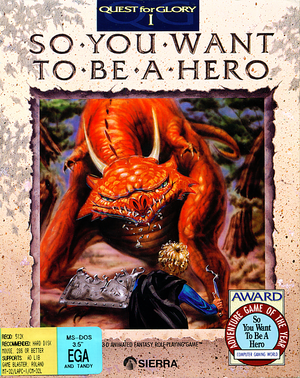 Quest for Glory: So You Want to Be a Hero cover