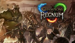 Champions of Regnum cover