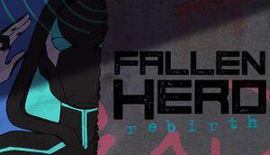 Fallen Hero: Rebirth cover