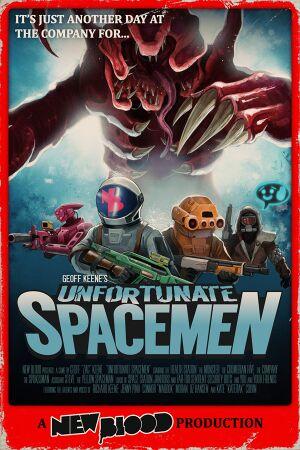 Unfortunate Spacemen cover