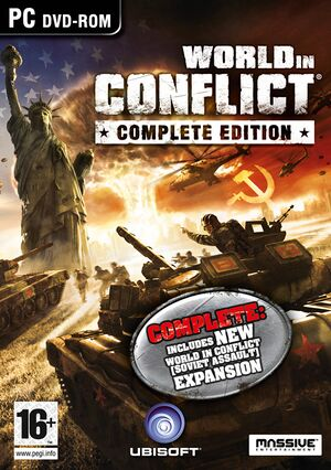 World in Conflict cover