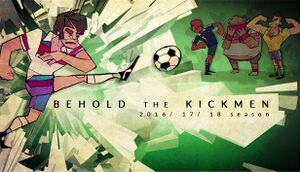 Behold the Kickmen cover