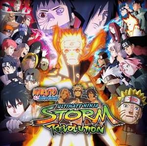 Naruto Shippuden: Ultimate Ninja Storm Revolution cover