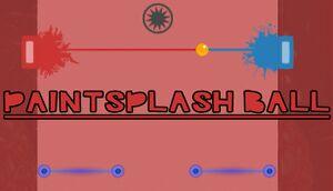 Paintsplash Ball cover