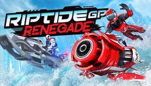 Riptide GP: Renegade cover