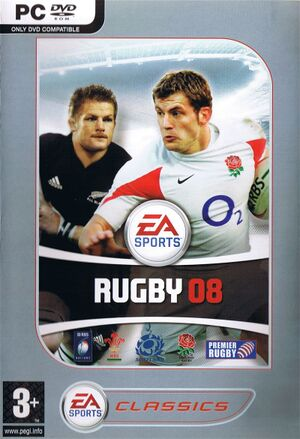 Rugby 08 cover