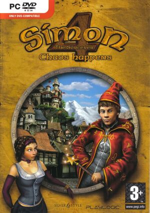 Simon the Sorcerer 4: Chaos Happens cover