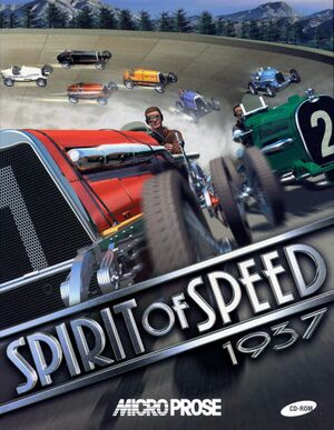 Spirit of Speed 1937 cover