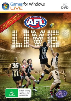 AFL Live cover