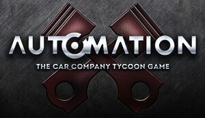 Automation - The Car Company Tycoon Game cover