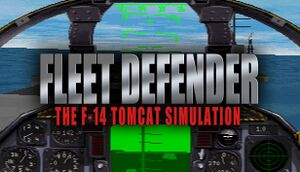 Fleet Defender: The F-14 Tomcat Simulation cover