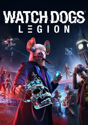 Watch Dogs: Legion cover