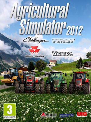 Agricultural Simulator 2012 cover